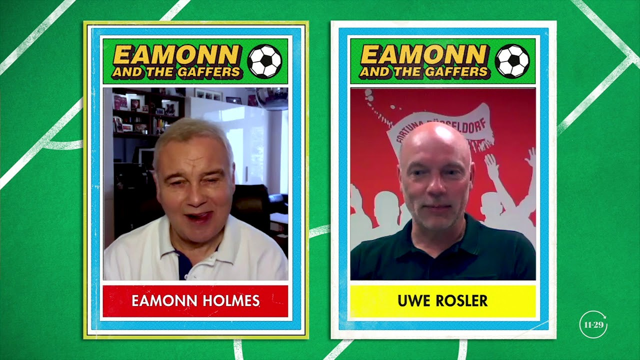 Uwe Rosler Fortuna Düsseldorf Manager - Eamonn and The Gaffers