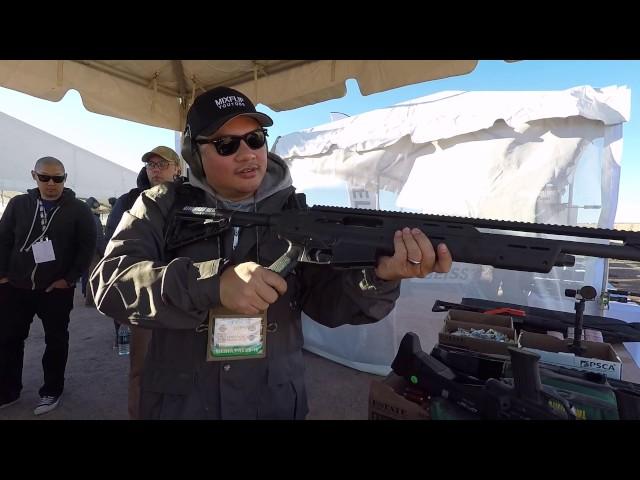 SHOT Show 2017 Standard Manufacturing SKO-12 Shotgun and DP-12 Double Barrel Shotgun