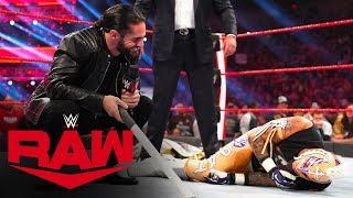 Seth Rollins and AOP brutally attack Rey Mysterio: Raw, Dec. 16, 2019