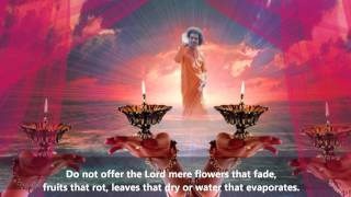 """Thought for the day as written in Prashanti Nilayam"" (Sept 13, 2012)"