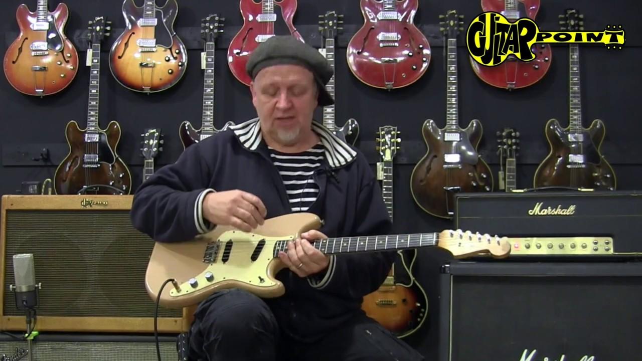1960 fender duosonic desert sand guitarpoint maintal vintage guitars youtube. Black Bedroom Furniture Sets. Home Design Ideas