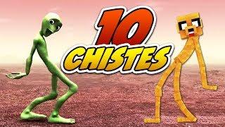 ¡EL CHISTE DE DAME TU COSITA! 😂😂😂 CHISTES EN MINECRAFT #4