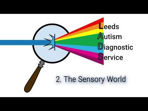 Leeds Autism Diagnostic Service - The sensory world