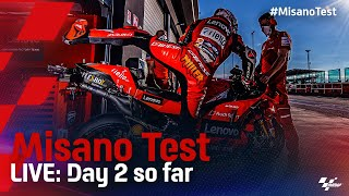 LIVE: Day 2 so far from the #MisanoTest