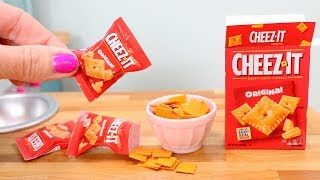 American Girl Doll CHEEZ-IT Crackers DIY