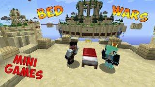 Играем в Мини-Игры: Алмазный BED WARS   УНИЧТОЖЬ ВСЕ КРОВАТИ