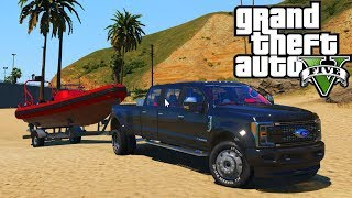 A Day Driving the Boat! GTA 5 Real Hood Life 2 #186