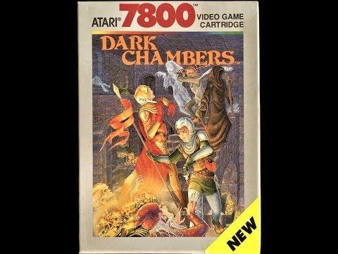 (EPISODE 1,568) RETRO GAMING: LET'S PLAY DARK CHAMBERS (ATARI 7800) 1988  @atari