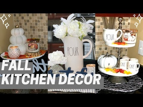 FALL KITCHEN DECOR 2019 I FALL DECORATING IDEAS