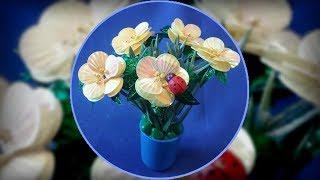 МАРГАРИТКИ из ПАЙЕТОК своими руками. Цветы из пайеток маргаритка. МК