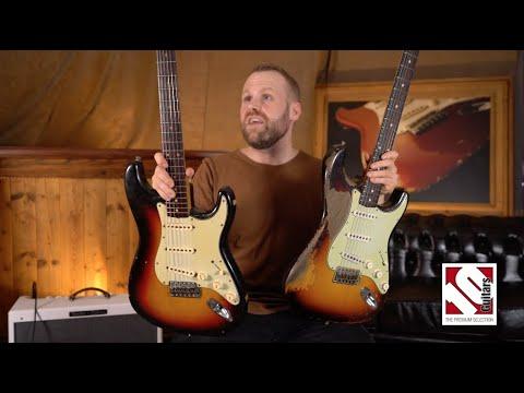 Vintage 1962 Fender Stratocaster vs. 2020 Dale Wilson &39;61 Masterbuilt Ultra Relic