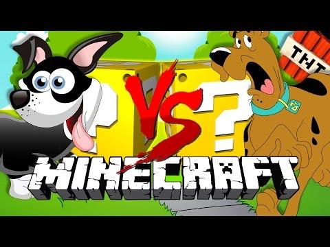 Minecraft | DOG LUCKY BLOCK CHALLENGE | Dog Park Wars!!