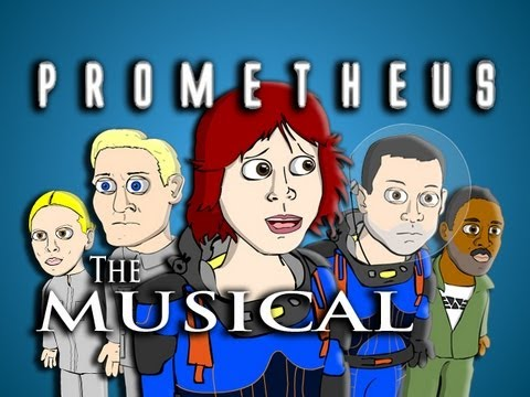 ♪ PROMETHEUS THE MUSICAL - Animated Parody