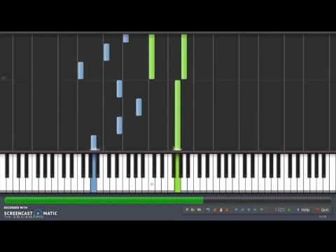 He is We - I wouldn't mind ( tutorial Piano Synthesia)