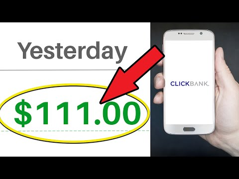 CLICKBANK AFFILIATE MARKETING: GET PAID $111 EVERY 30 MINUTES