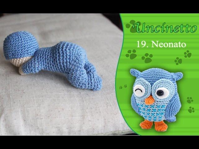 Uncinetto amigurumi: Neonato 1° parte-How to do baby