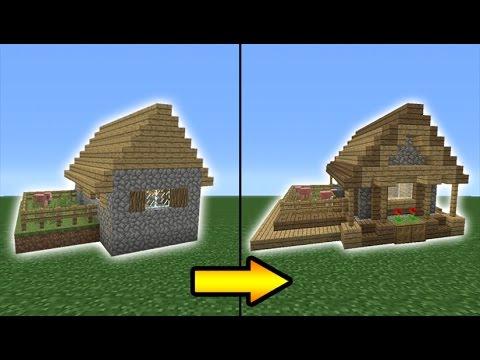Minecraft Tutorial: How to Transform a Village Butcher Shop