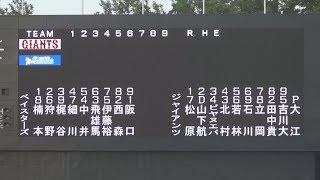 2019/05/28 イースタンリーグ公式戦 横浜DeNAベイスターズ(2軍)vs読売ジャイアンツ(2軍) スタメン発表