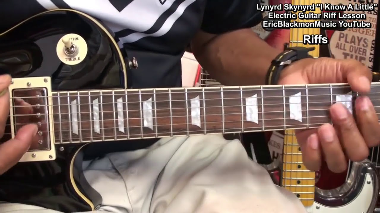 how to play lynyrd skynyrd riffs 1 i know a little on electric guitar youtube. Black Bedroom Furniture Sets. Home Design Ideas