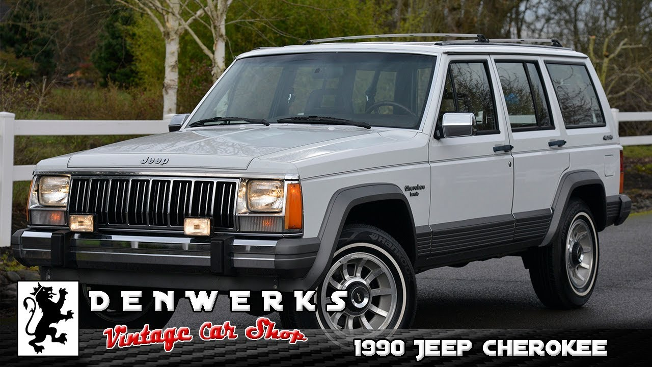 1990 jeep cherokee laredo xj denwerks bring a trailer youtube. Black Bedroom Furniture Sets. Home Design Ideas