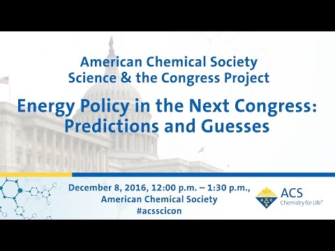 ACS Science & the Congress Project -  Energy Policy in the Next Congress: Predictions and Guesses