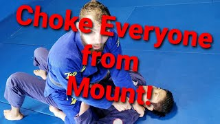 Choke Everyone from Mount! Toro BJJ Move of the Week