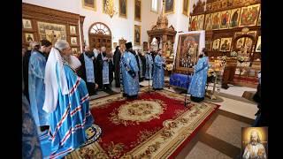 Параклис Богородице.  Хор братии Святогорской Свято-Успенской Лавры
