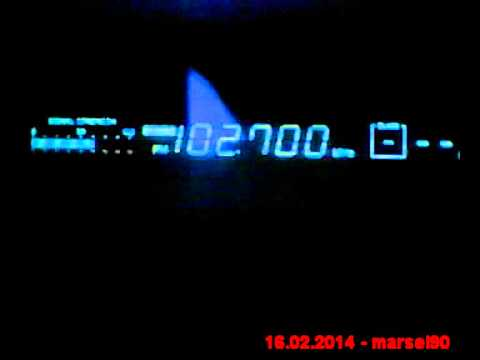 DX FM 102.7 Mhz Radio Hit from Serbia in Craiova