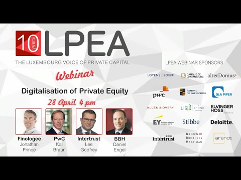 LPEA Webinar: Digitalisation of Private Equity