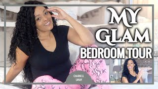 My Glam Bedroom Tour|Gray&White Room Decor
