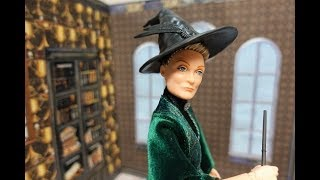 Unboxing & Review NEW! Harry Potter Doll Minerva McGonagall