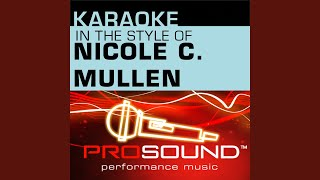 Call On Jesus (Karaoke Instrumental Track) (In the style of Nicole C. Mullen)
