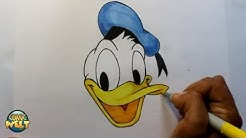 Wie zeichnet man Donald Duck [Walt Disney] Tutorial