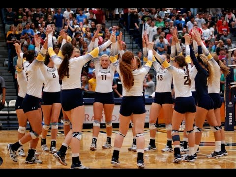 Cedarville University Volleyball vs. Ursuline College 10/7/16