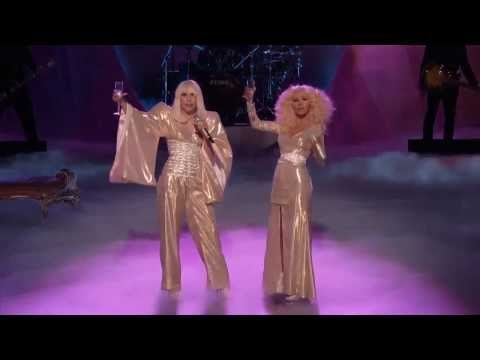 Christina Aguilera Ft. Lady Gaga - Do What U Want Live At The Voice Finale Legendary Performance