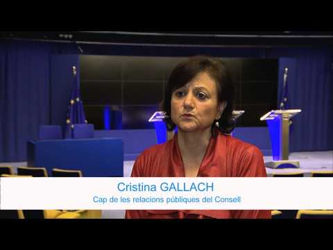 Cristina Gallach, Spokesperson at Council of the European Union -- Citoyen Project (Catalan)