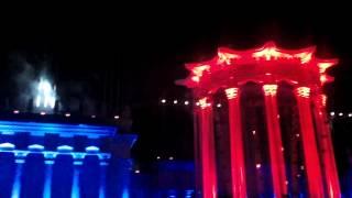 2015-07-26 - ВДНХ - Старт фестиваля «Вдохновение» Световое шоу, второй запуск