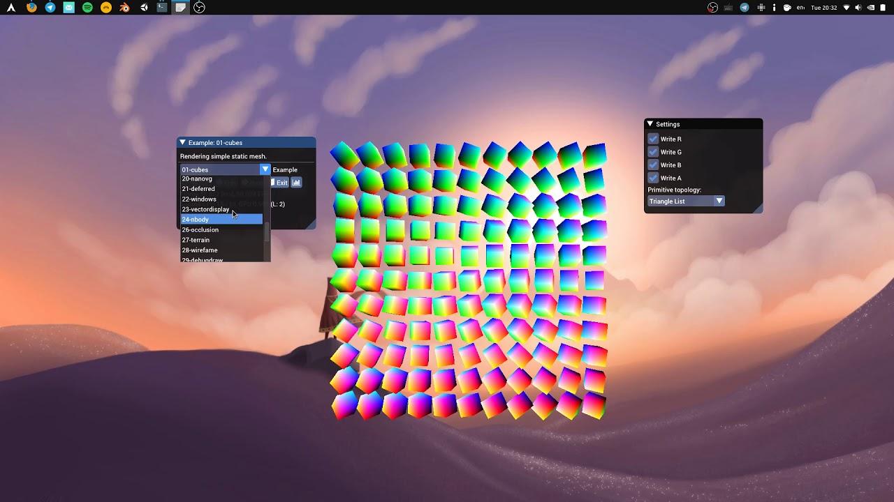 GLFW+bgfx transparent windows