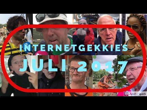 De Internetgekkies van de maand Juli 2017