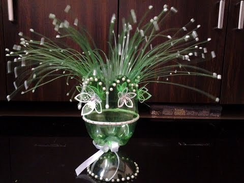 Best Out Of Waste Plastic Fabulous Centre Piece