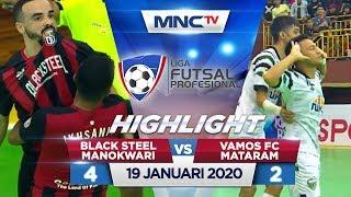 BLACK STEEL MANOKWARI VS VAMOS FC MATARAM (FT: 4-2) - Highlights Liga Futsal Profesional 2020