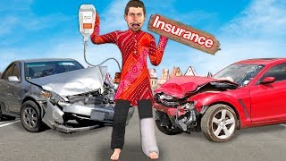 कार बीमा Car Insurance Funny Video हिंदी कहानिय Hindi Kahaniya Panchtantra Moral Stories Fairy Tales