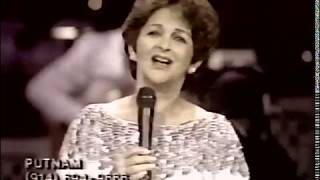 Gogi Grant sings a medley of her 2 biggest hits, The Wayward Wind & Suddenly There's a Valley