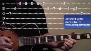 Học đàn guitar || Học đàn Guitar Lead Nâng cao - Tập 3
