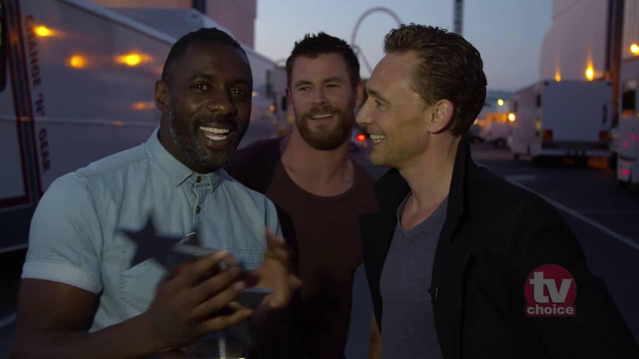 Tom Hiddleston's Best Actor Award Gatecrashed By Idris