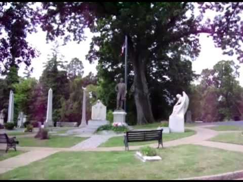 President Jefferson Davis Gravesite & Confederate White House - Civil War Richmond Virginia