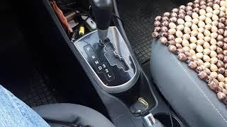 Автомобиль с АКПП. Последовательность постановки на парковку под подьем и на спуске