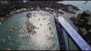 Соревнования по прыжкам со скал-2012