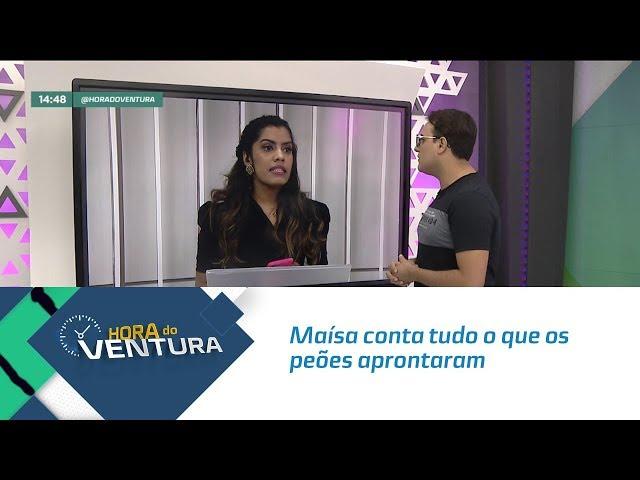 """Maísa conta tudo o que os peões aprontaram em """"A Fazenda 11"""" - Bloco 02"""