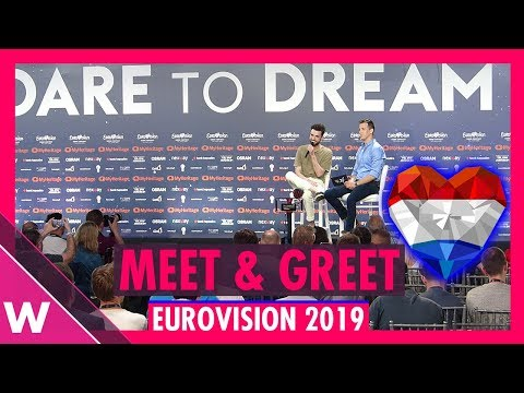 """The Netherlands Press Conference: Duncan Laurence """"Arcade"""" @ Eurovision 2019 